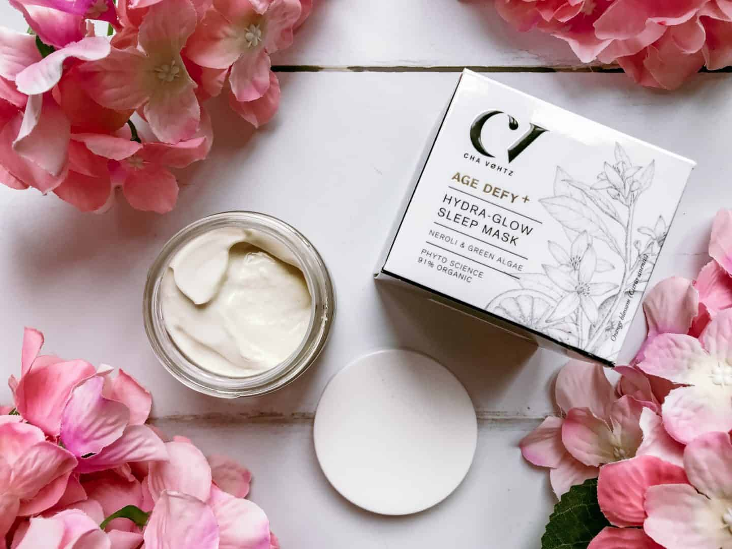 Organic Skincare for 35+ from Green People- Age Defy+ by Cha Vøhtz Hydra-Glow Sleep Mask review
