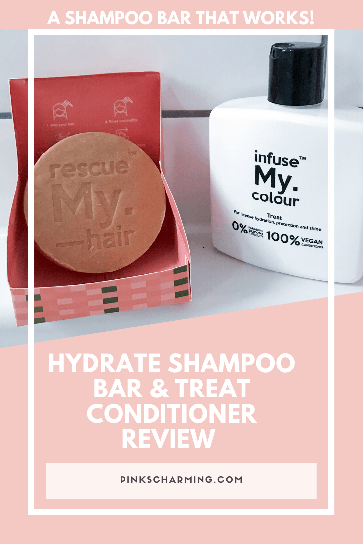 A Shampoo Bar That Works!  Hydrate Shampoo Bar and Treat Conditioner Review