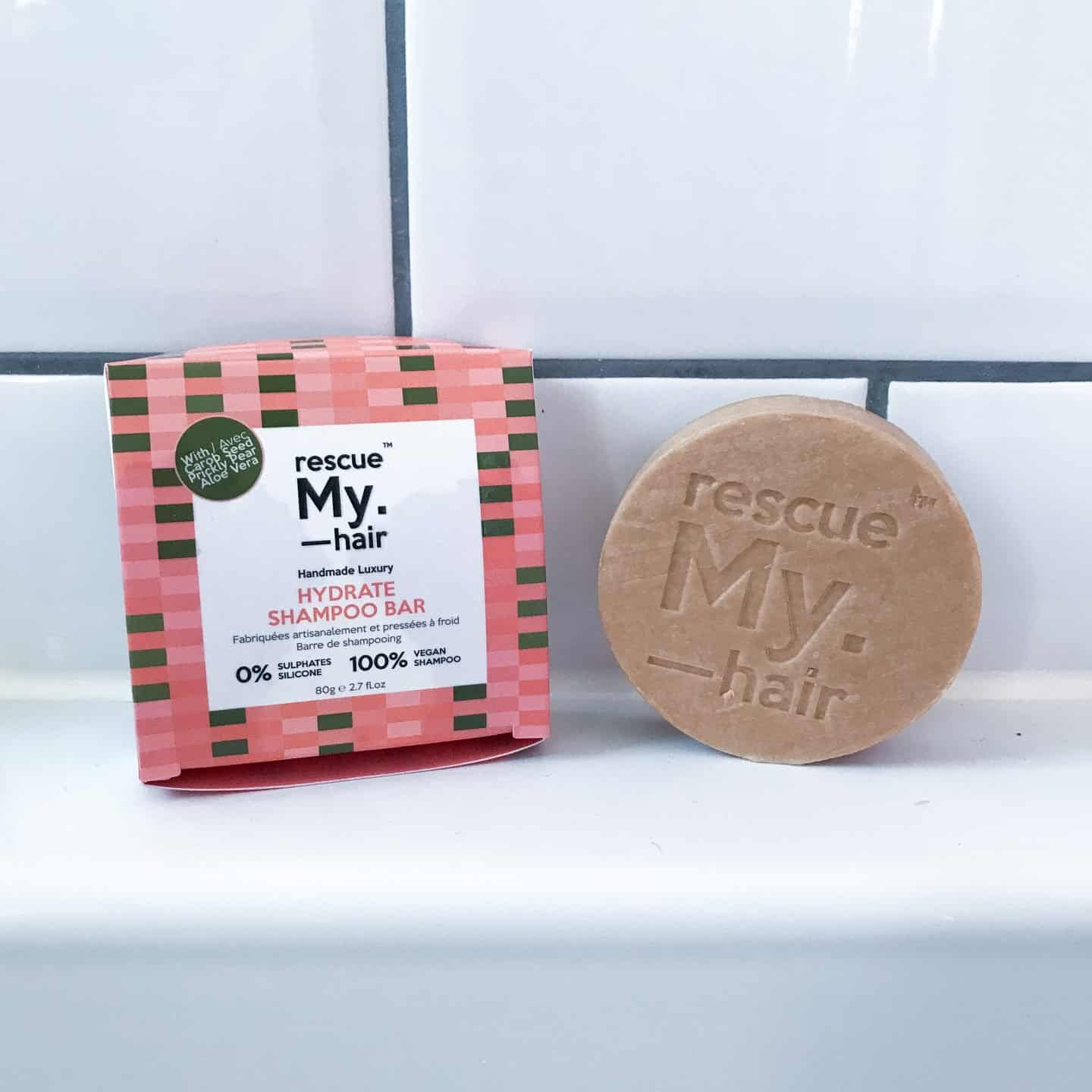 My. Haircare Rescue My. Hair Hydrate Shampoo Bar Review