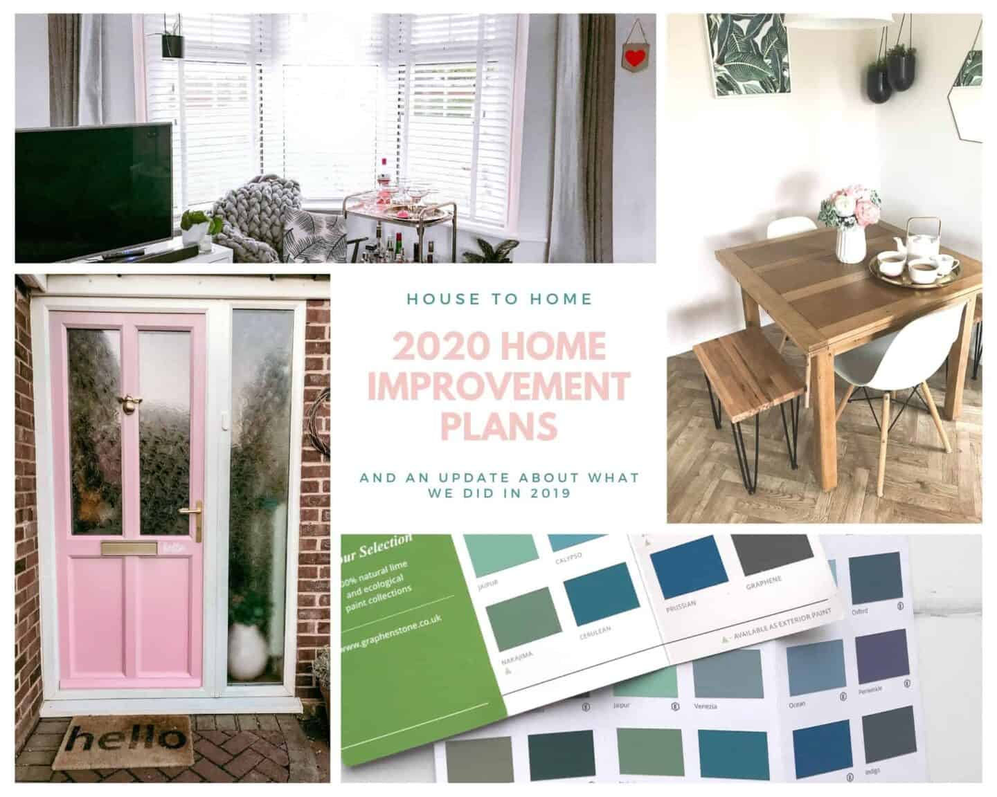 2020 Home Improvement Plans and an update about what we did in 2019