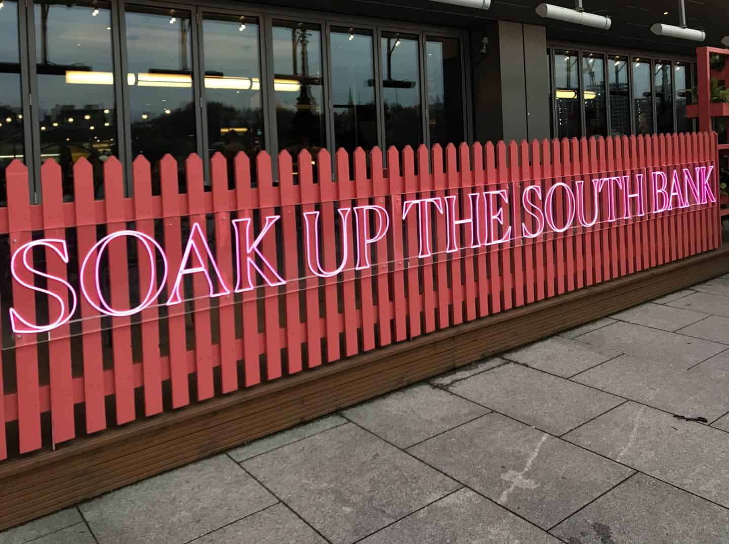 Soak up the Southbank in London